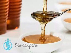 Проведение массажа лица мёдом