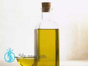Оливковое масло от межбровной морщины