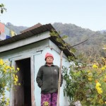 Diki Tamang of Sikkim built a toilet next to her house after her college-going daughter demanded it (Photo: Sayantan Bera - Down To Earth)