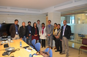 NESFAS meets with the Monitoring and Evaluation team of IFAD, Rome
