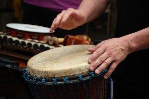 Drum Circle @ Neskaya Movement Arts Center   Franconia   New Hampshire   United States