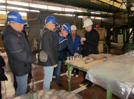Представители МЭС Волги посетили «Тольяттинский Трансформатор»