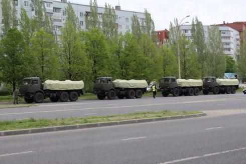 2-я гвардейская Краснознаменная общевойсковая армия провела дезинфекцию Тольятти