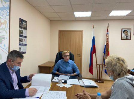 Глава Самары провела приём жителей в Куйбышевском районе