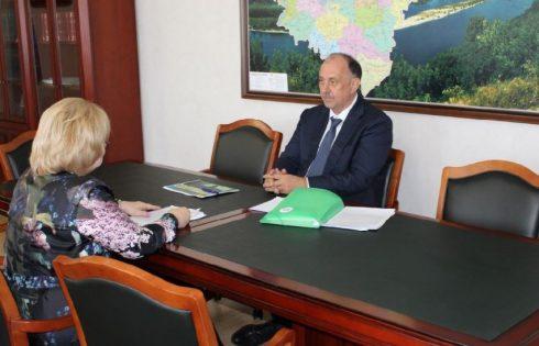 Прокурор Самарской области Сергей Берижицкий  провел рабочую встречу