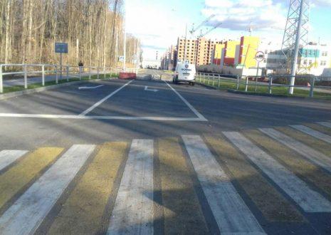 В микрорайоне «Новая Самара» завершено строительство новой дороги