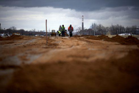 В Тольятти идет активное строительство железнодорожной ветки к особой экономической зоне