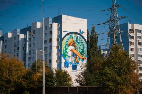 Самарские муралы на Ново-Садовой признаны лучшими в ПФО
