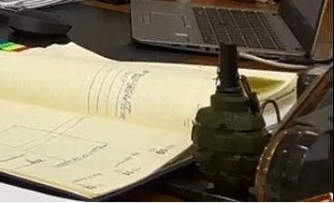 В кабинете главы Тольятти обнаружили гранату