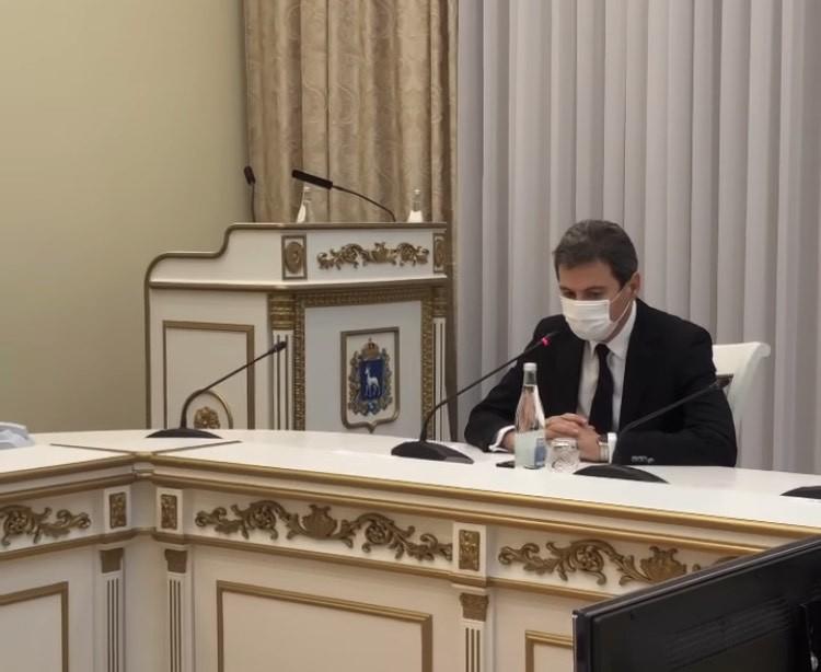 Дмитрий Азаров раскритиковал министра здравоохранения Самарской области