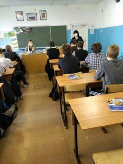 В Кинеле полицейские провели профилактическое мероприятие со студентами колледжа