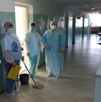 В Большеглушицкой ЦРБ развернут инфекционный госпиталь