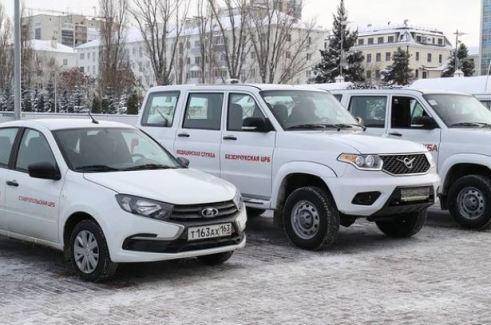 ЦРБ Самарской области получили 26 новых автомобилей