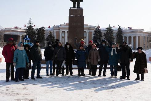 В Новокуйбышевске задержали участников возложения цветов к памятнику Ленину
