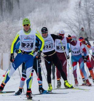 """В Самаре состоялся  лыжный марафон """"Сокольи Горы"""""""