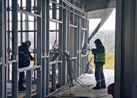 В Самарской области продолжается возведение модульных зданий для пациентов с COVID-19