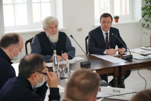 Дмитрий Азаров провел  выездное совещание по развитию духовно-просветительского комплекса в Ташле