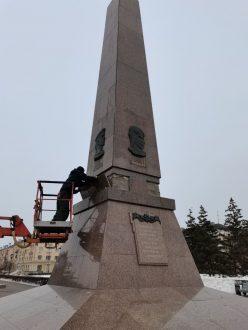 В Тольятти отремонтируют обелиск Славы до празднования Дня Победы