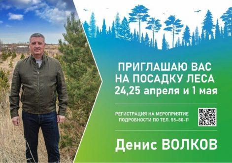 """ГК """"ЭкоВоз"""" приглашает на посадку тольяттинского леса"""