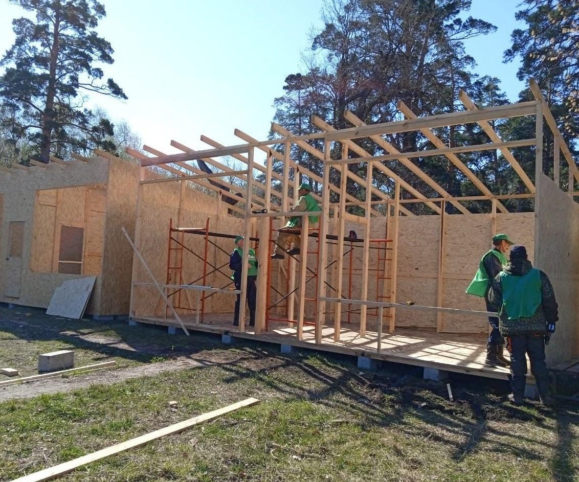В Тольятти ведется строительство нового приюта для птиц