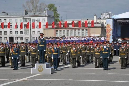 В Самаре пройдут репетиции военного парада
