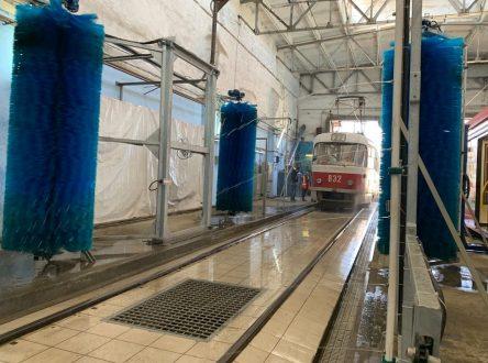 С самарском депо «ТТУ» запустили новую энергосберегающую автоматизированную мойку