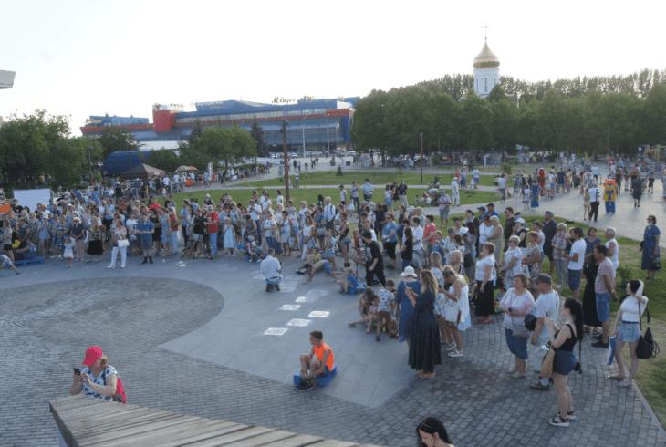 В Тольятти состоялось официальное открытие сквера имени С. Ф. Жилкина