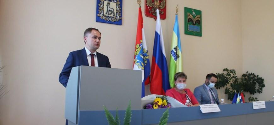Михаила Белоусова переизбрали на посту главы Красноярского района
