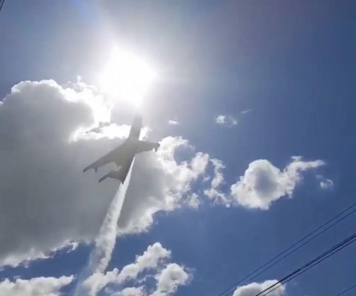 Самолёт-амфибия совершил десять вылетов для тушения лесного пожара в Тольятти