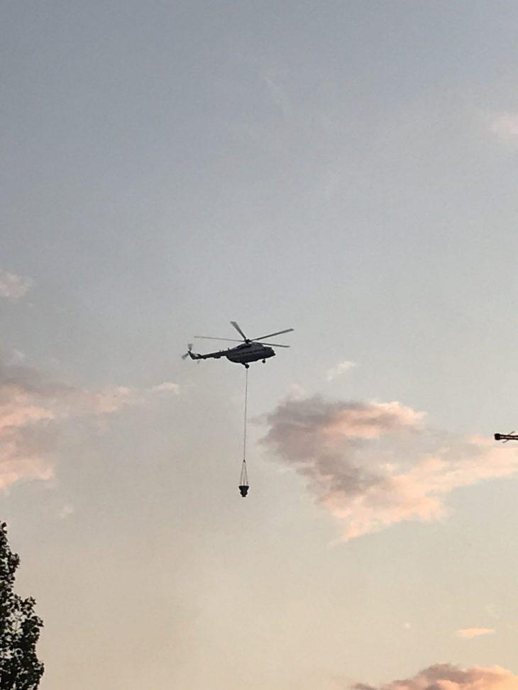 Для тушения леса Тольятти подключена авиация