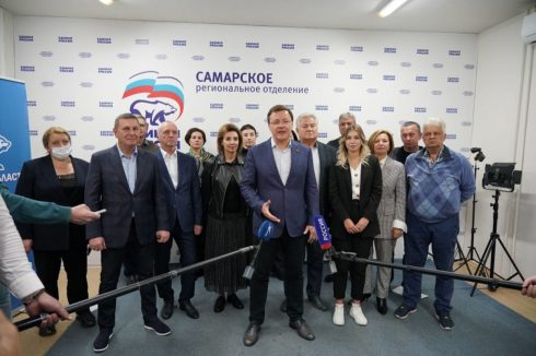 Дмитрий Азаров поблагодарил избирателей, которые поддержали «Единую Россию»