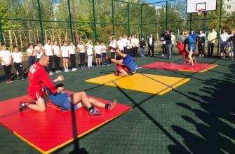 В Тольятти в школе №70 открыли новую спортивную площадку
