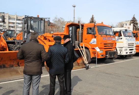 Власти Самары получат в лизинг 47 единиц техники для благоустройства города