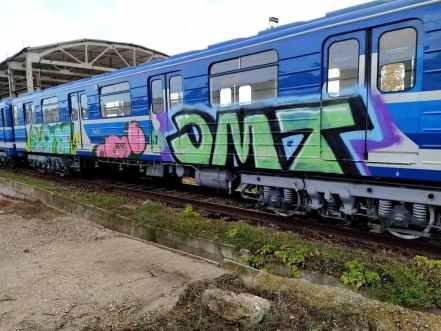 В Самаре хулиганы испортили отремонтированные вагоны метро