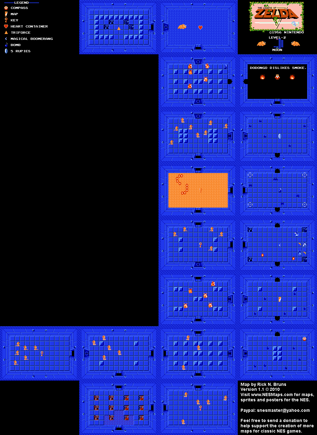 Legend Of Zelda Secret Map : legend, zelda, secret, Legend, Zelda, Level, Quest