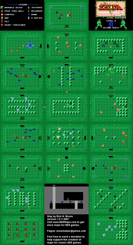 Legend Of Zelda Map Quest 1 : legend, zelda, quest, Legend, Zelda, Level, Quest