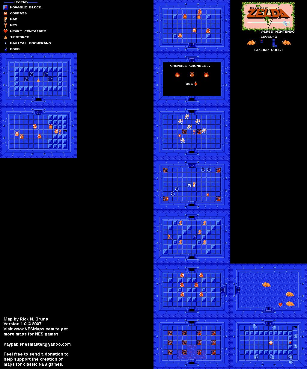 Legend Of Zelda Level 2 : legend, zelda, level, Legend, Zelda, Level, Quest