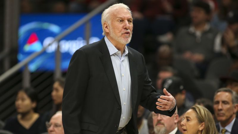 Spurs Coach Gregg Popovich Says 'Country Is In Trouble' In Emotional Video