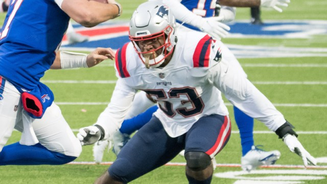 Patriots' Josh Uche Earns Praise From Bill Belichick For Heads-Up Play Vs.  Bills - NESN.com