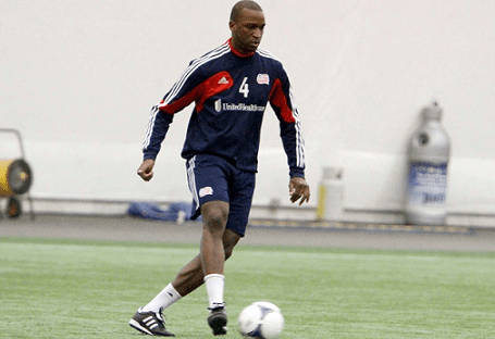 Revolution midfielder Kalifa Cisse was brought in during the offseason to lend his experience to the club - both on and off the field. (Photo: Chris Aduama/aduama.com)