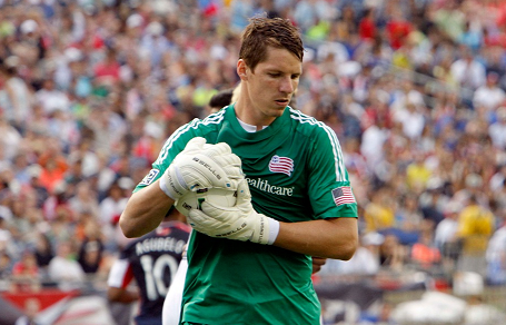 The stats show that Revolution goalkeeper Bobby Shuttleworth is among the best at his position in MLS. (Photo: Chris Aduama/aduama.com)