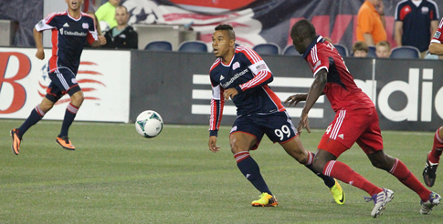 Charlie Davies will be back for a full season with the Revolution. (Photo credit: Kari Heistad/capturedimages.biz)