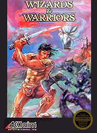 Play Wizards and Warriors  NES Play