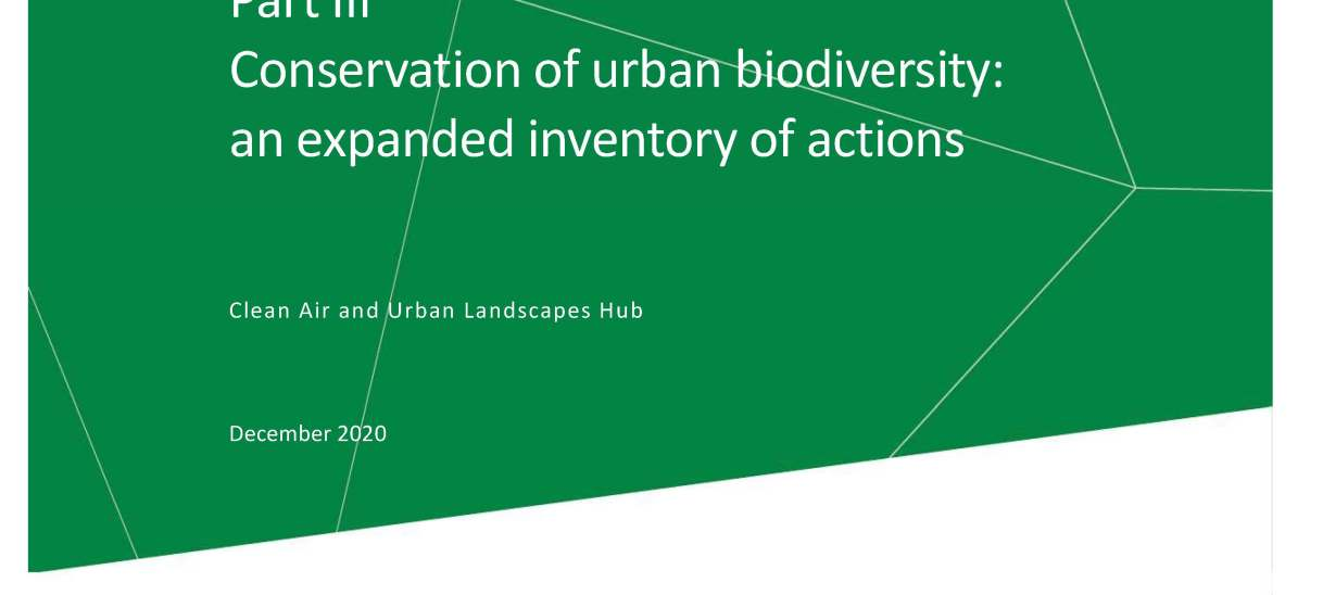 Conservation opportunities for threatened species in urban environments