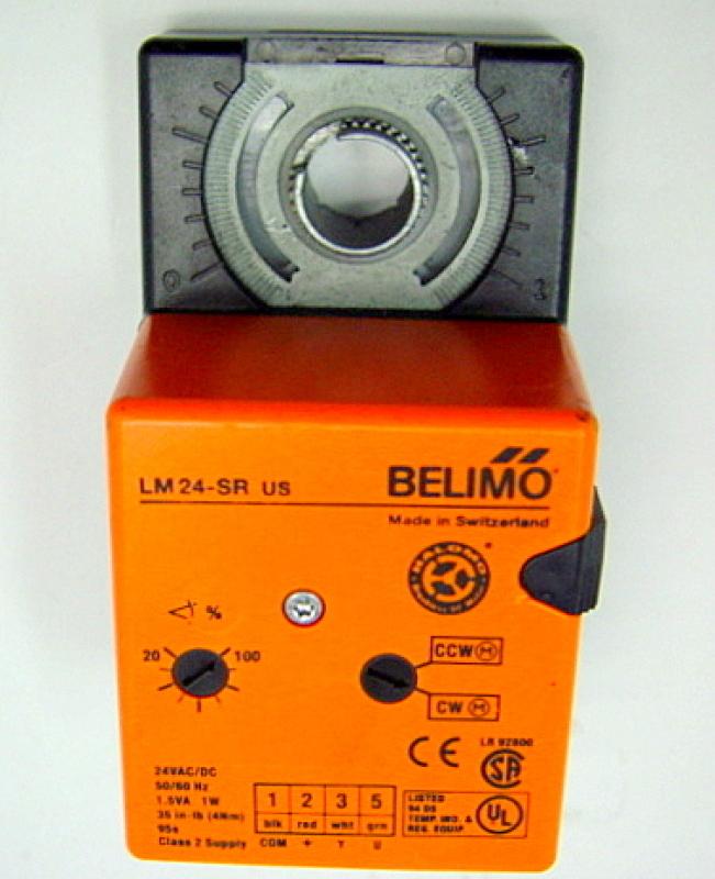 Belimo Lm24 Sr Us Modulating Damper Actuator For Hvac