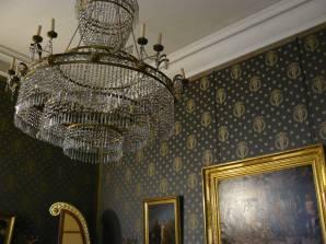 Details der Inneneinrichtung. Einige Zimmer wurden nicht originalgetreu, aber passend ausgestattet.