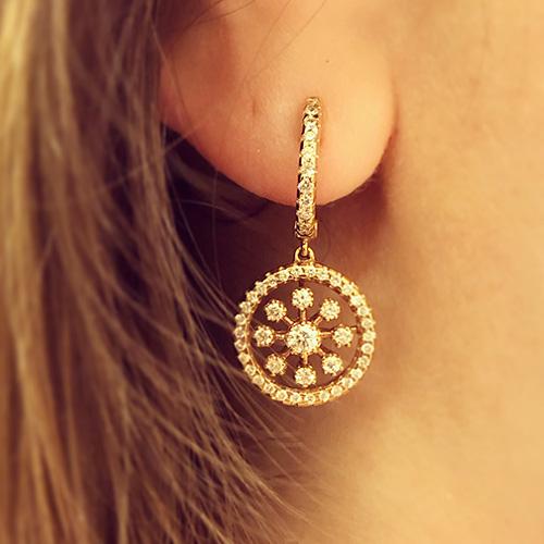 Γυναικεία σκουλαρίκια κουμπωτά ή καρφωτά