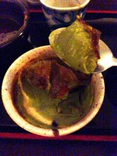 Green Tea Cre'me Brulee