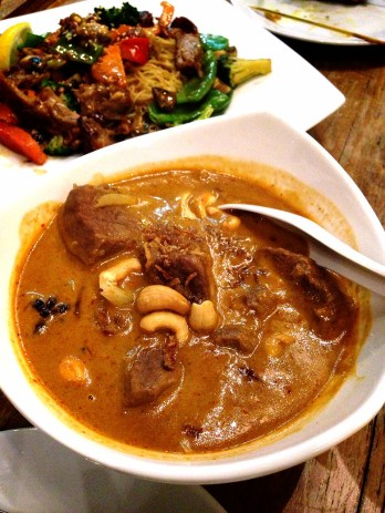 Massaman curry with beef ($15.50)