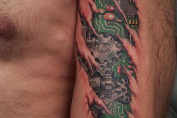 biomech tattoo Anil Gupta